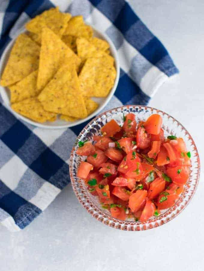 Easy Homemade Fresh Salsa