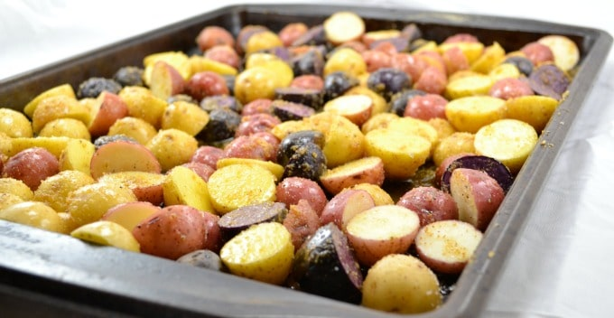 easy roasted potatoes