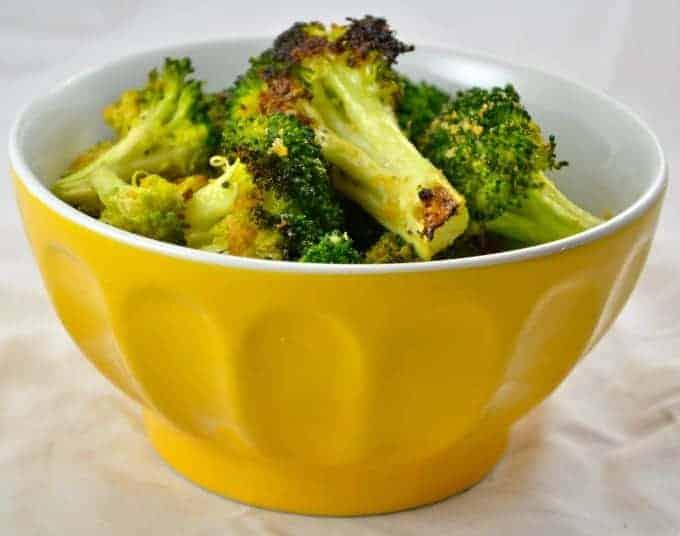 Roasted Garlic Broccoli