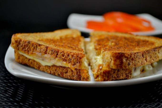 muenster grilled cheese