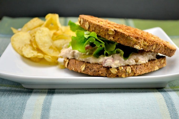 Lightened Up Tuna Salad Sandwiches