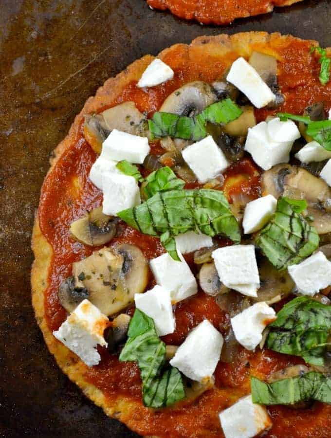 Vegetarian Lavash Pizza