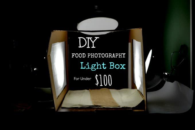 Food Photography Light Box (under $100)