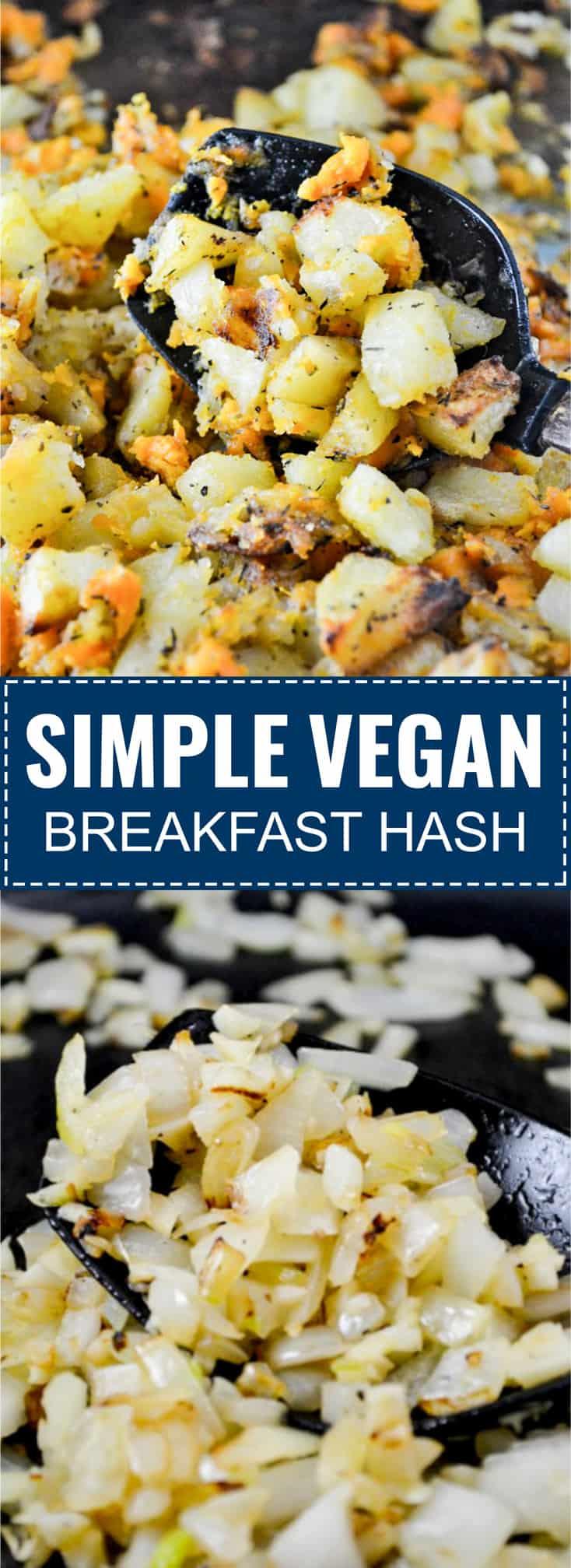 simple vegan breakfast hash recipe