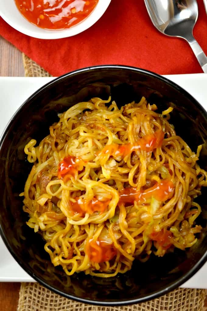 30 minute vegan mie goreng recipe