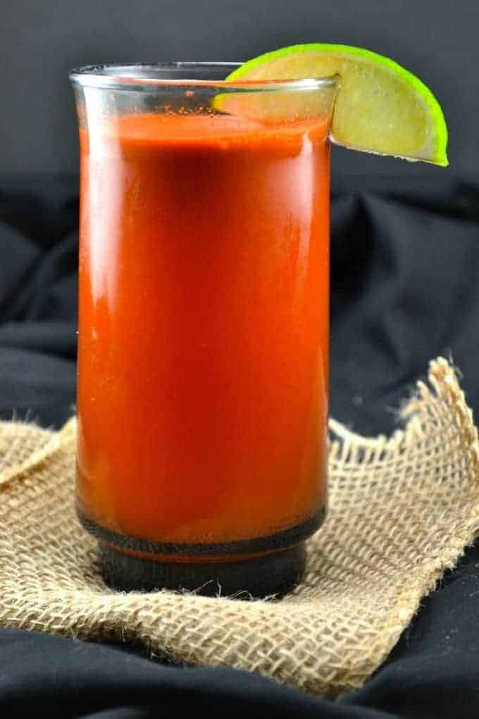 refreshing citrus carrot juice