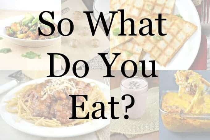so what do you eat ? (blog post) - vegetarian & vegan
