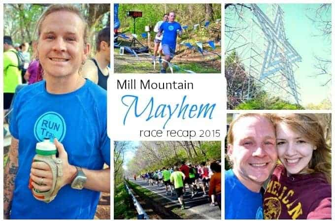 Mill Mountain Mayhem 10k Race Recap 2015
