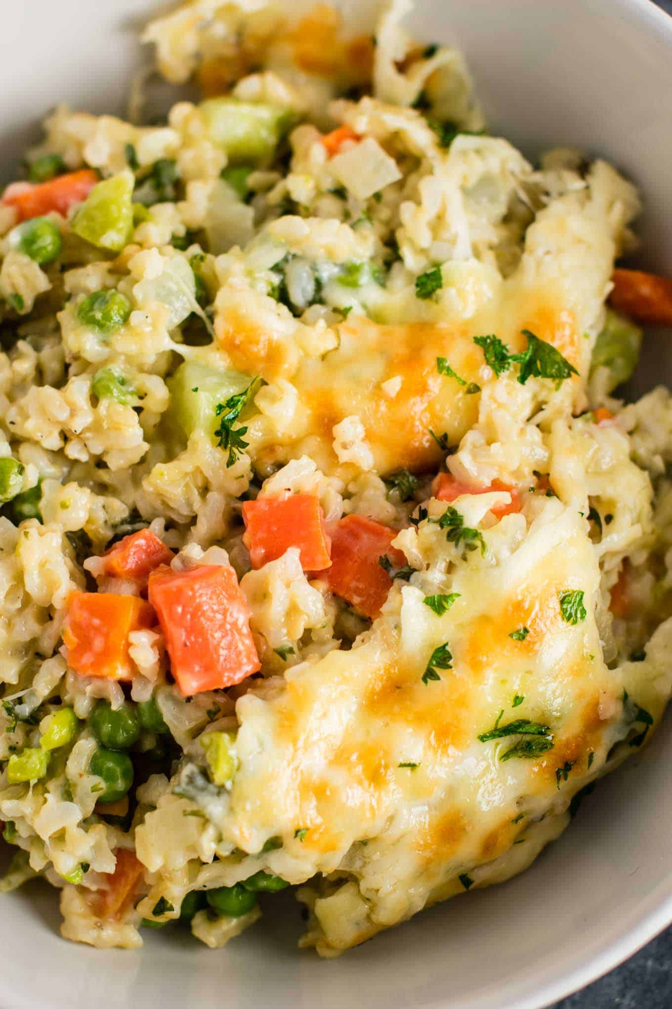 vegetable and rice casserole