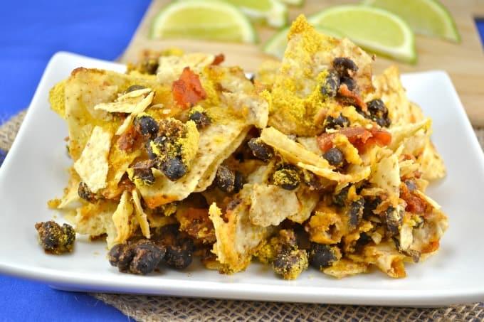 spicy vegan taco bake