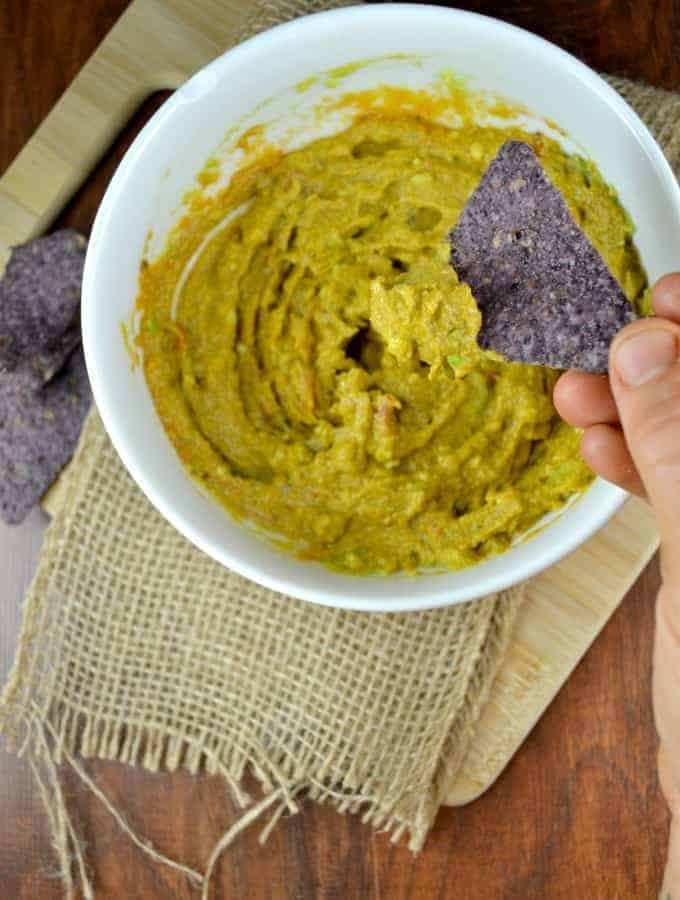 3 Ingredient Mexican Avocado Dip