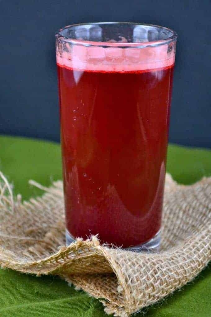 beauty beet juice