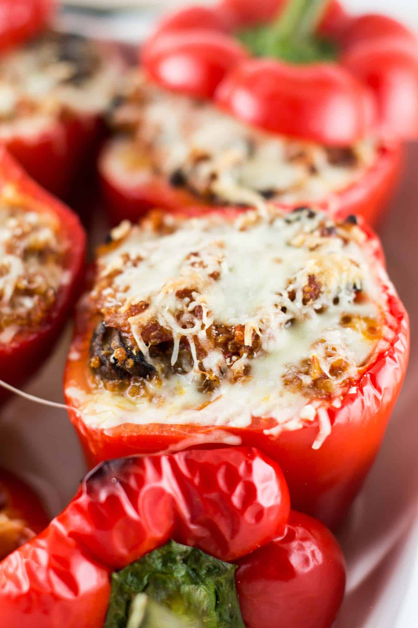 quinoa pizza peppers-4