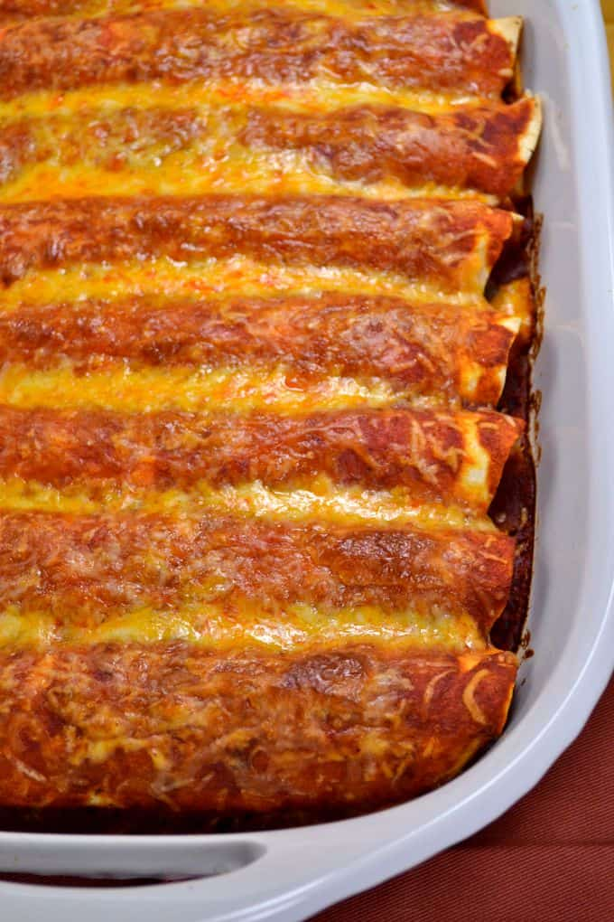 the best veggie enchiladas EVER {recipe}