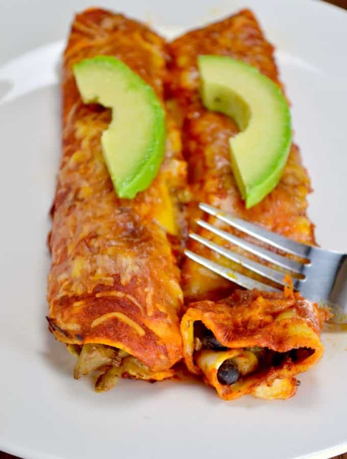 The Best Ever Veggie Enchiladas