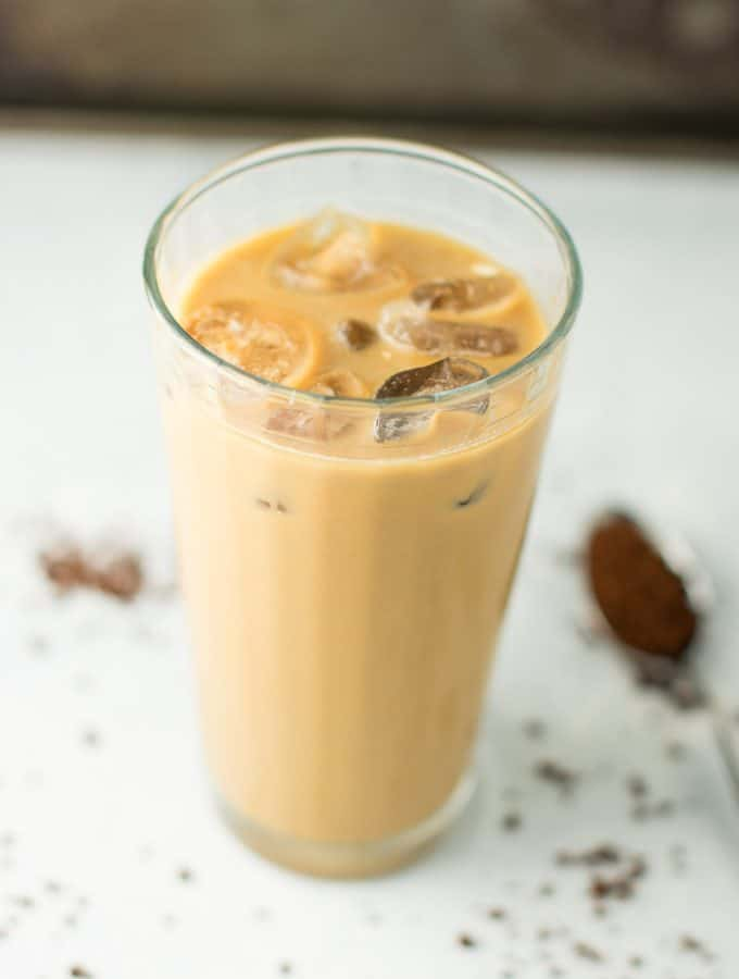 Easy Instant Iced Coffee