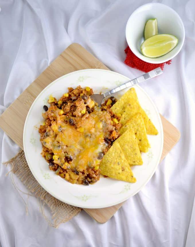 mexican-quinoa-enchilada-bake-4
