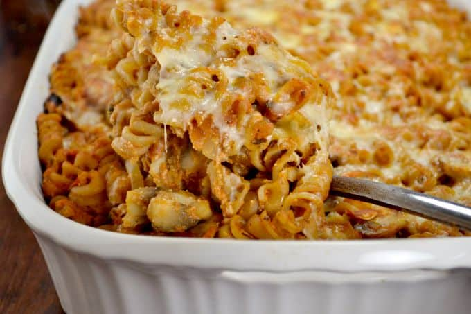 parmesan and ricotta pasta bake - Blue Ridge Babe Recipes