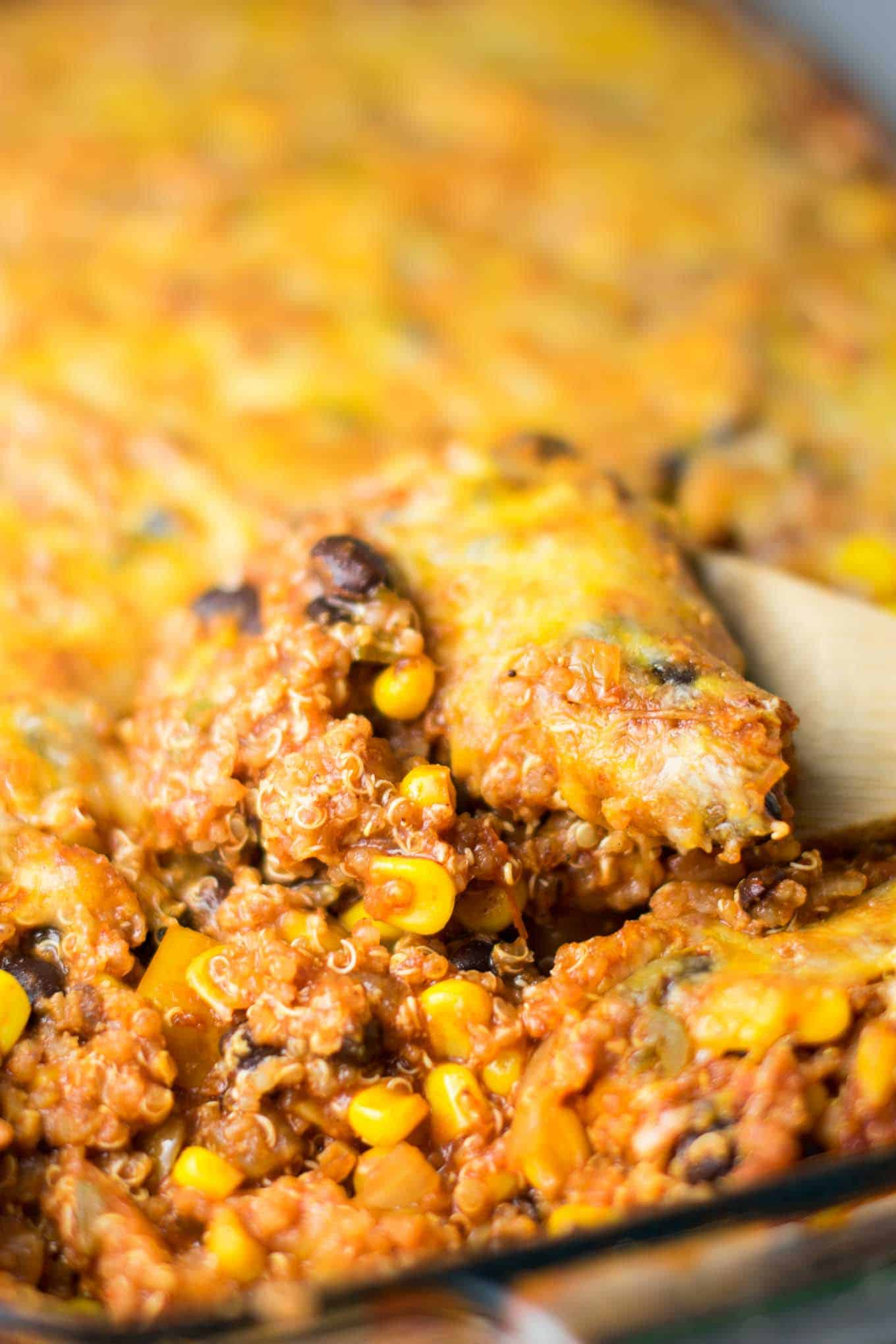 mexican quinoa enchilada bake recipe
