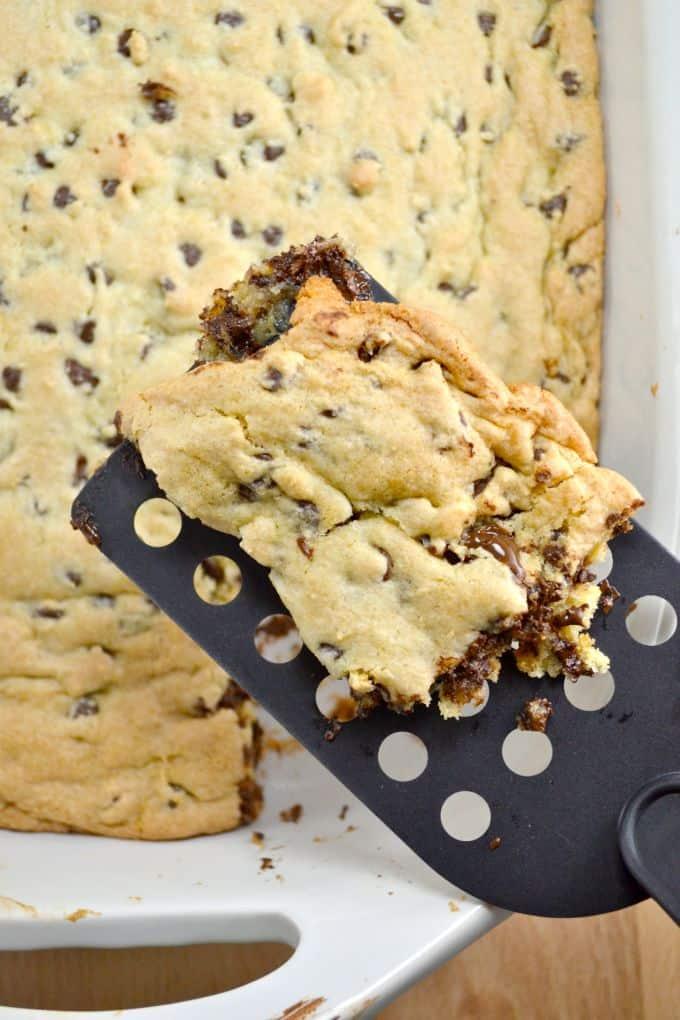 4 ingredient cake mix cookie bars