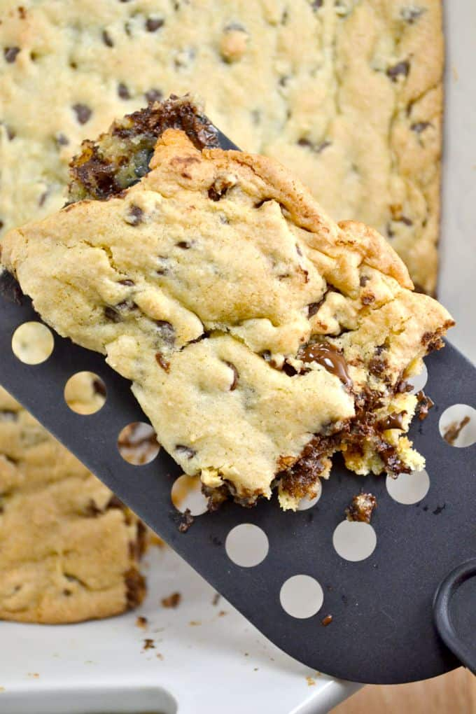 Easy Cake Mix Cookie Bars Only Four Ingredients