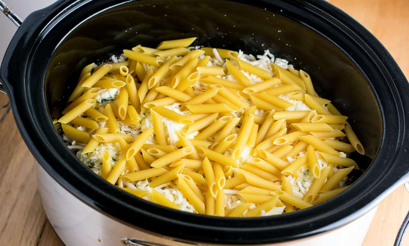 baked ziti crock pot recipe