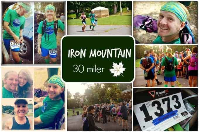 Iron Mountain 30 Miler 2015