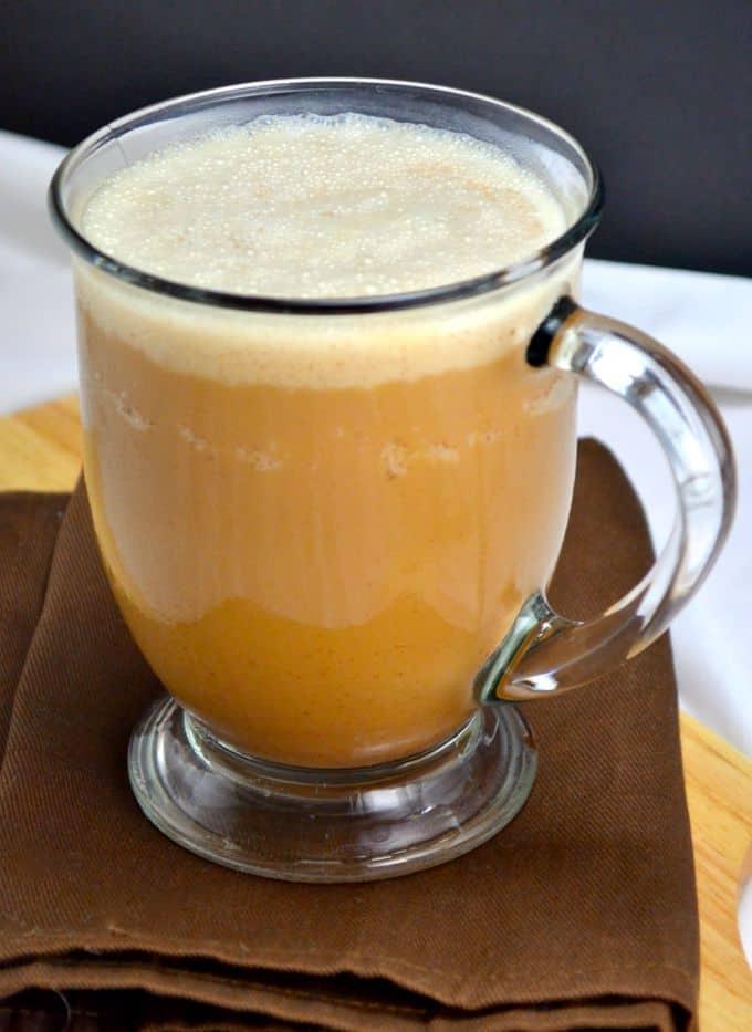 lazy pumpkin spice frappuccino