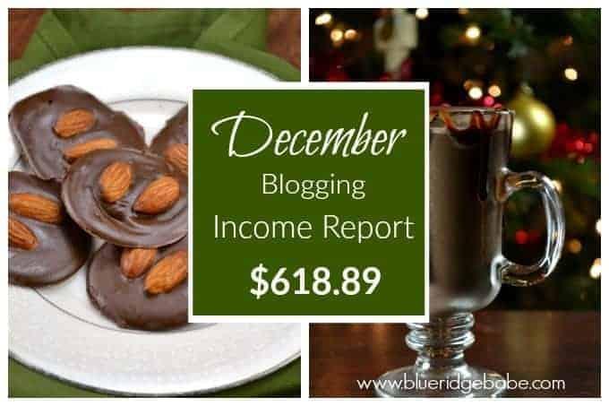 December 2015 Blogging Income Report