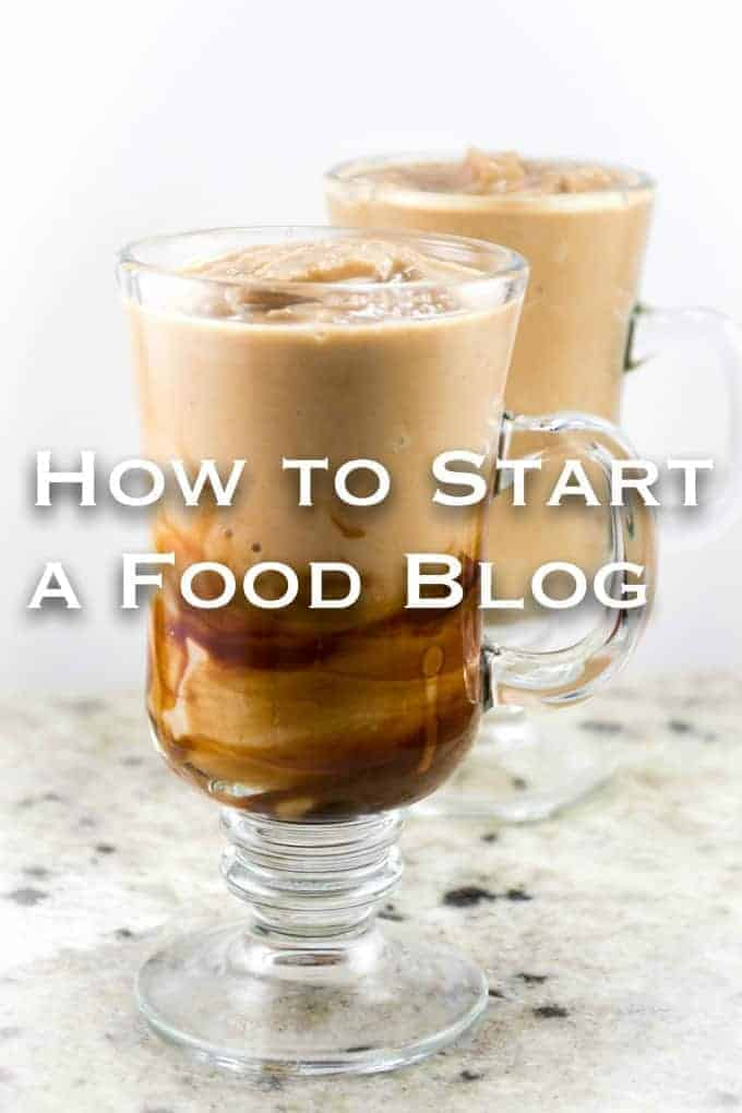 how to start a food blog - a step by step guide from Build Your Bite