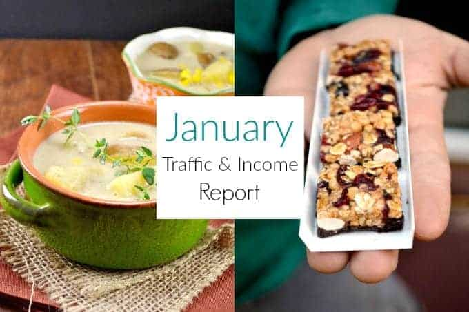 January 2016 Traffic and Income Report - Build Your Bite