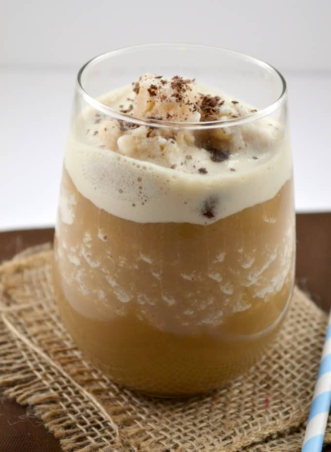 skinny hazelnut frappuccino - only 70 calories!
