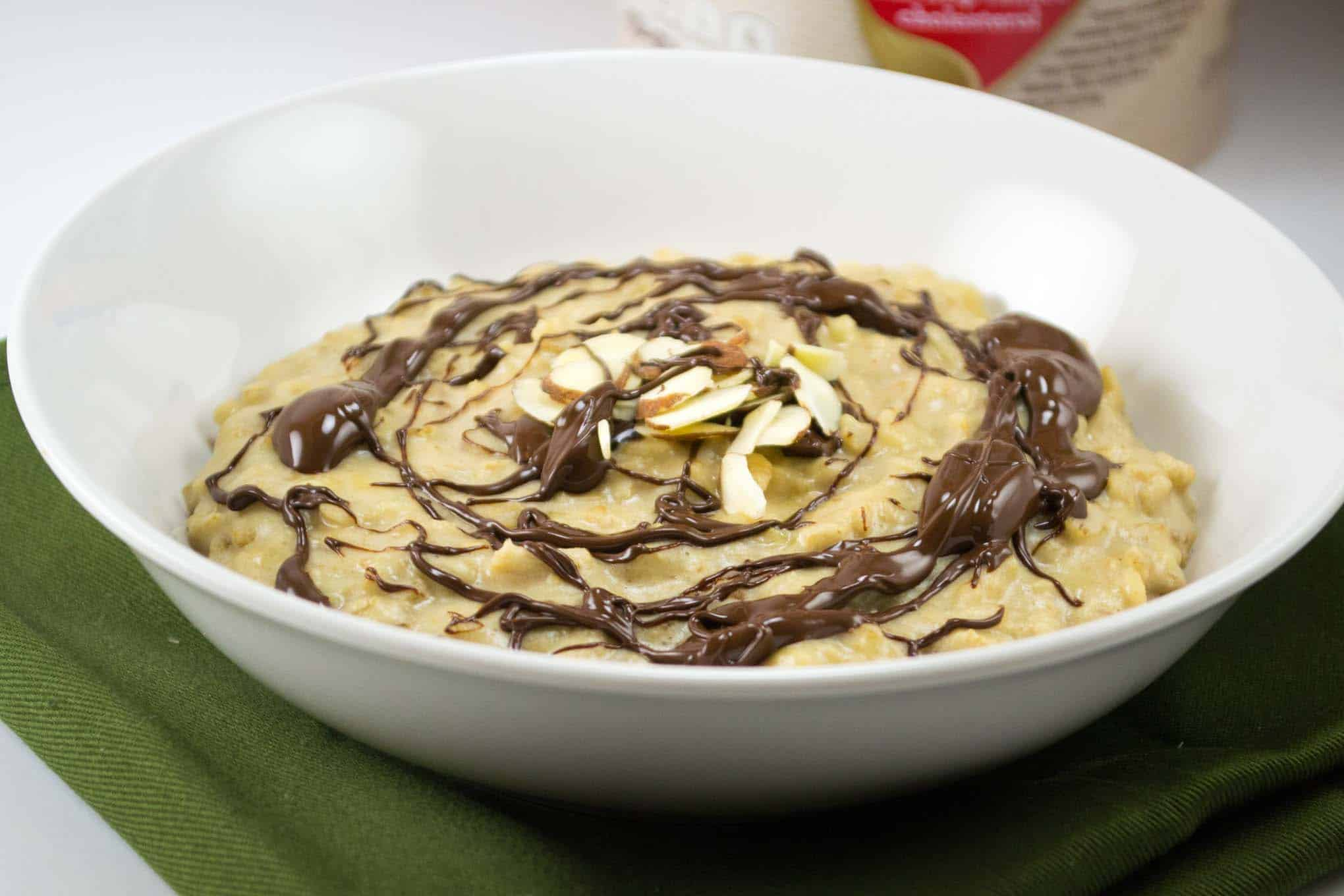 5 minute peanut butter cup oatmeal