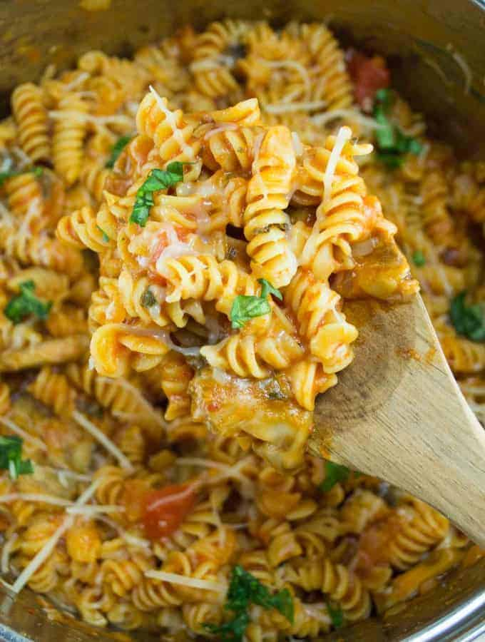 One Pot Veggie Rotini