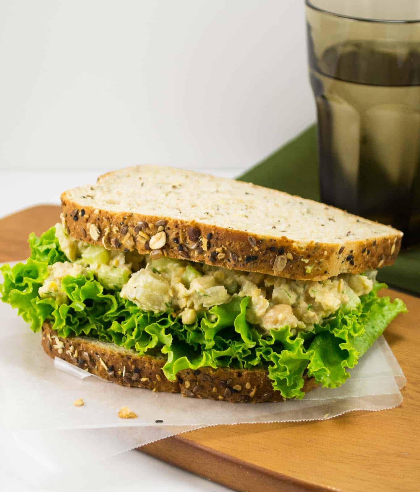 smashed chickpea avocado salad chickpea salad recipe two peas sandwich ...