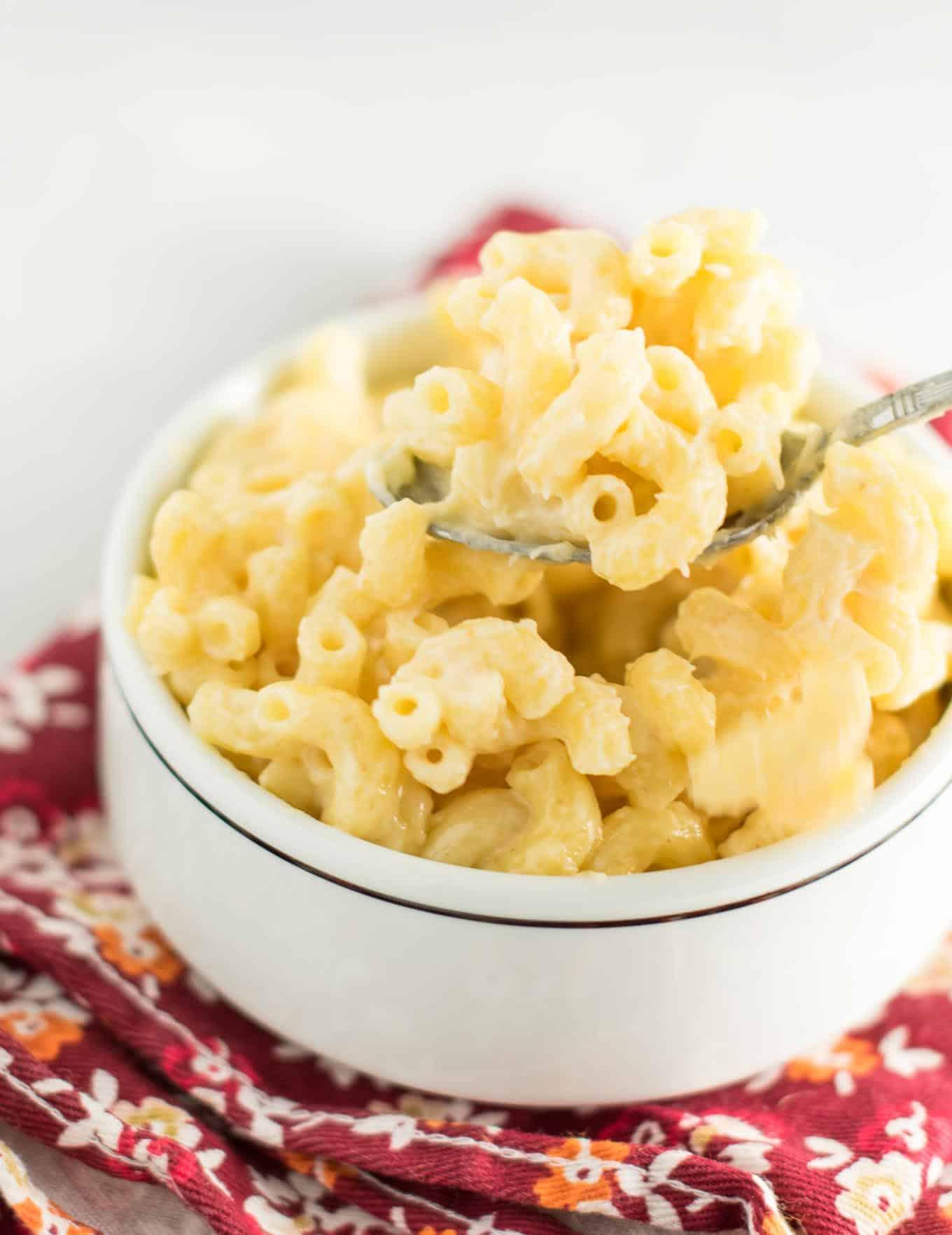 creamy sharp cheddar mac & cheese
