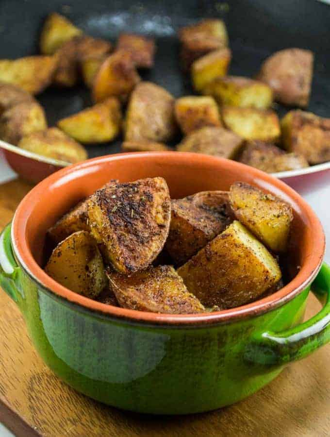 Crispy Skillet Breakfast Potatoes