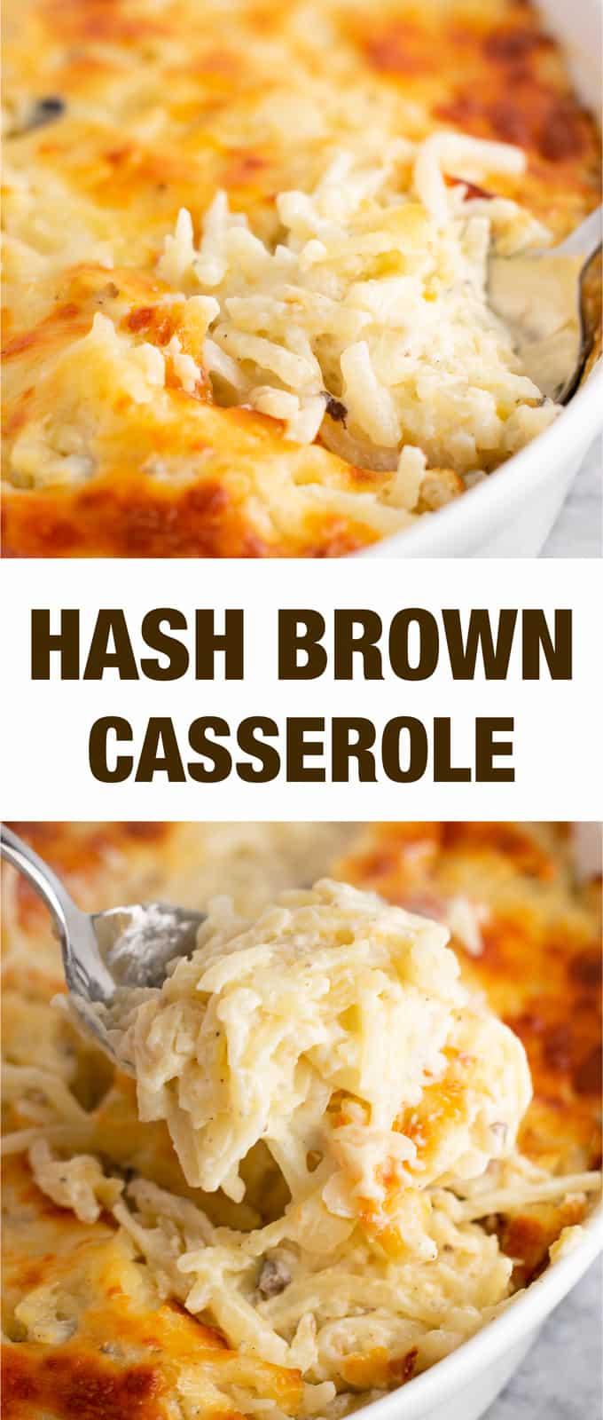 Vegetarian Hash Brown Casserole Recipe