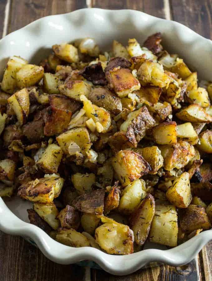 Worth every minute of cook time, this famous crispy potato casserole is a guaranteed crowd pleaser!