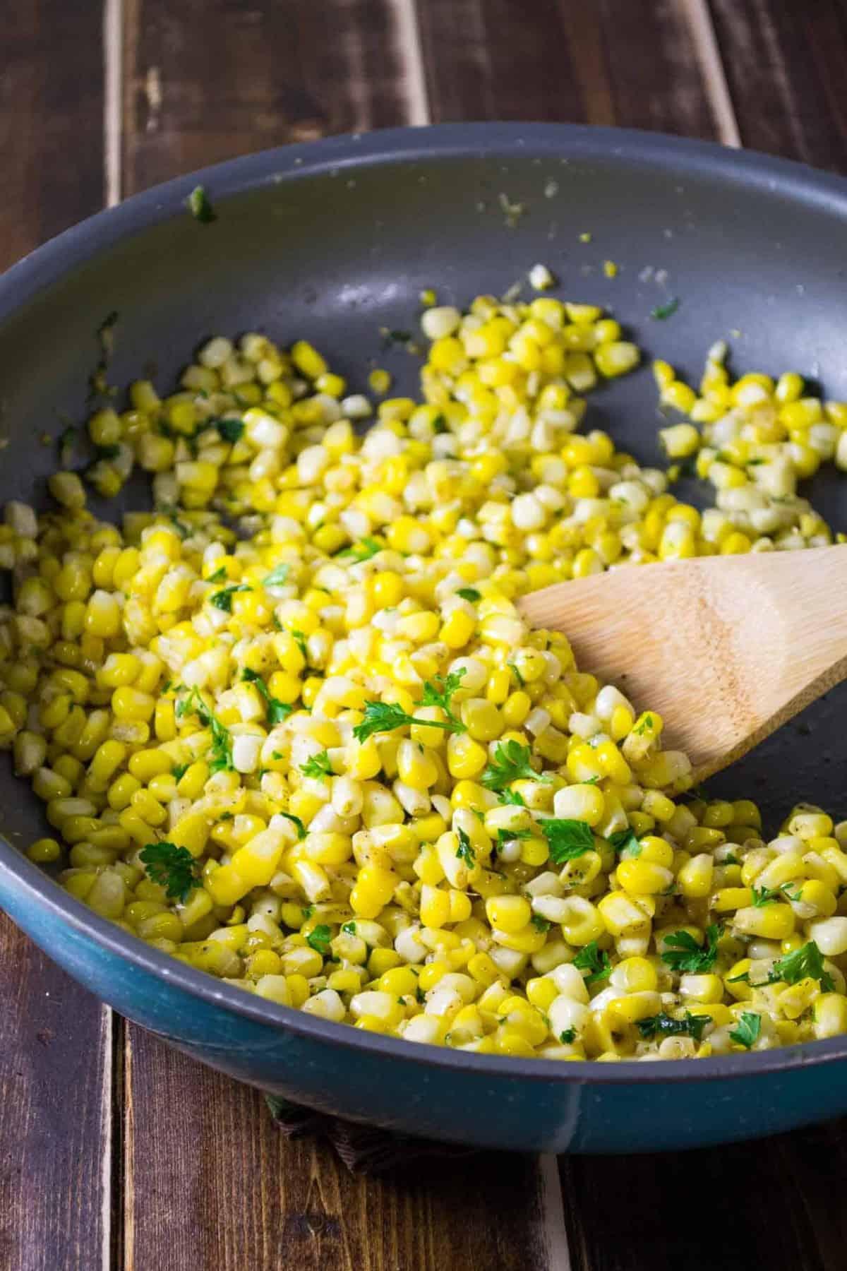 buttery skillet corn