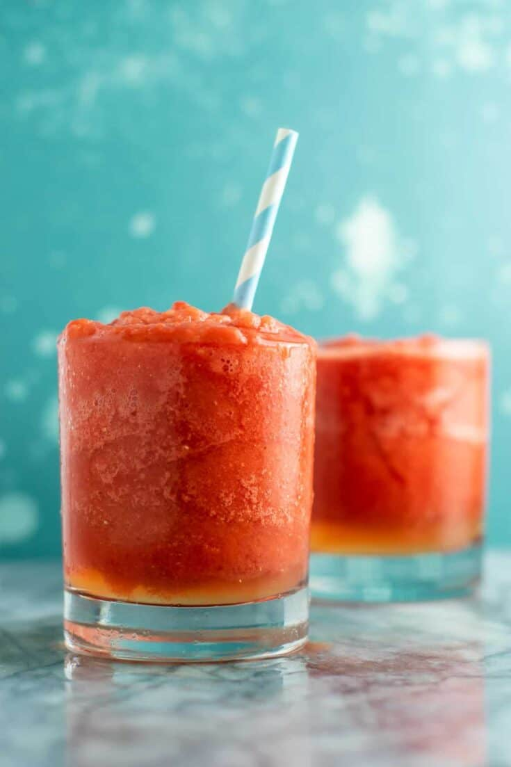 Frozen Watermelon Lime Cooler