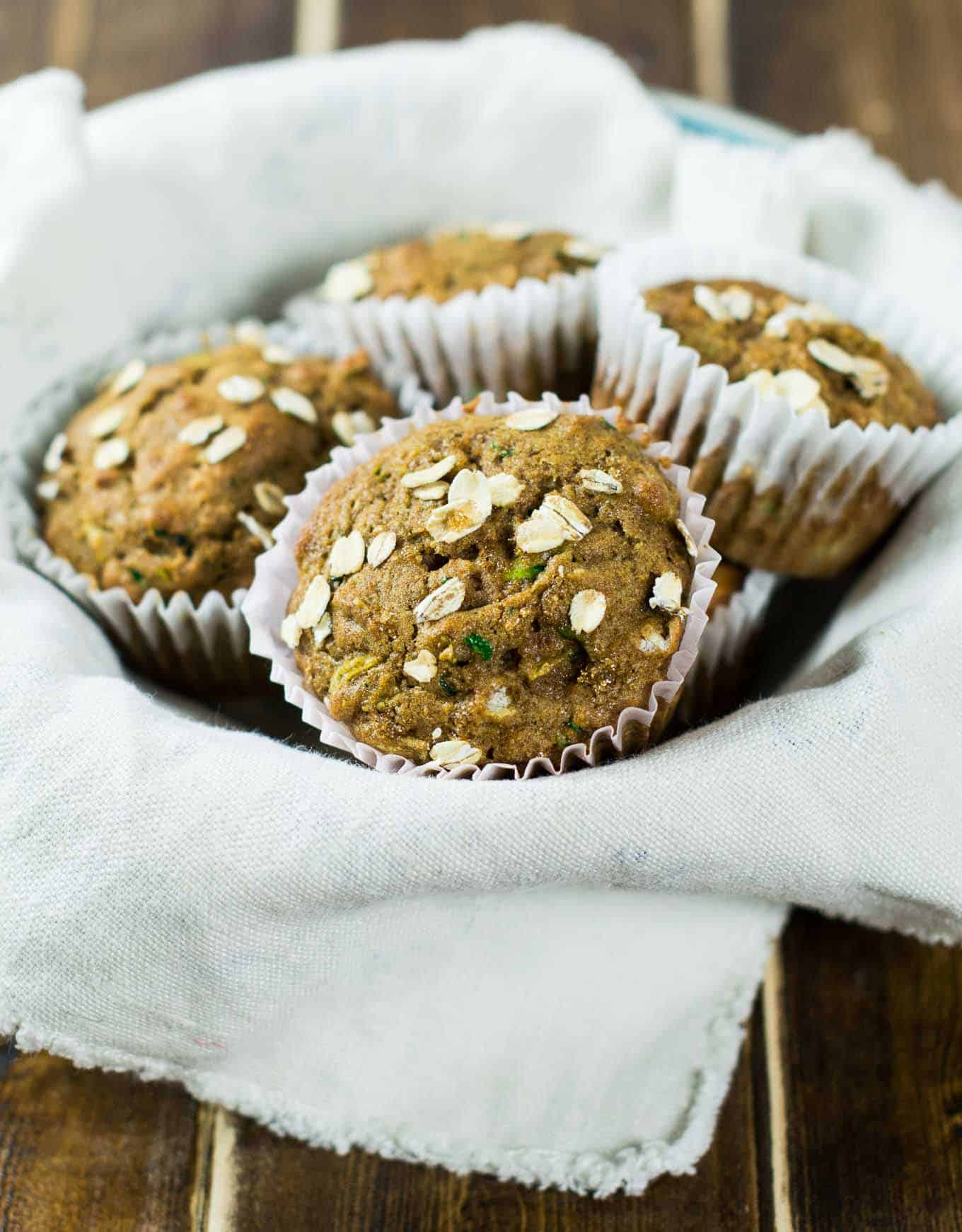brown sugar zucchini bread muffins