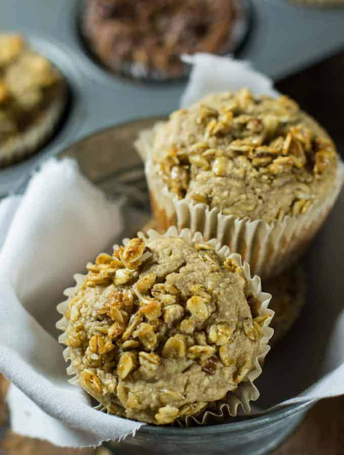 Greek Yogurt Blender Muffins (Two Ways)