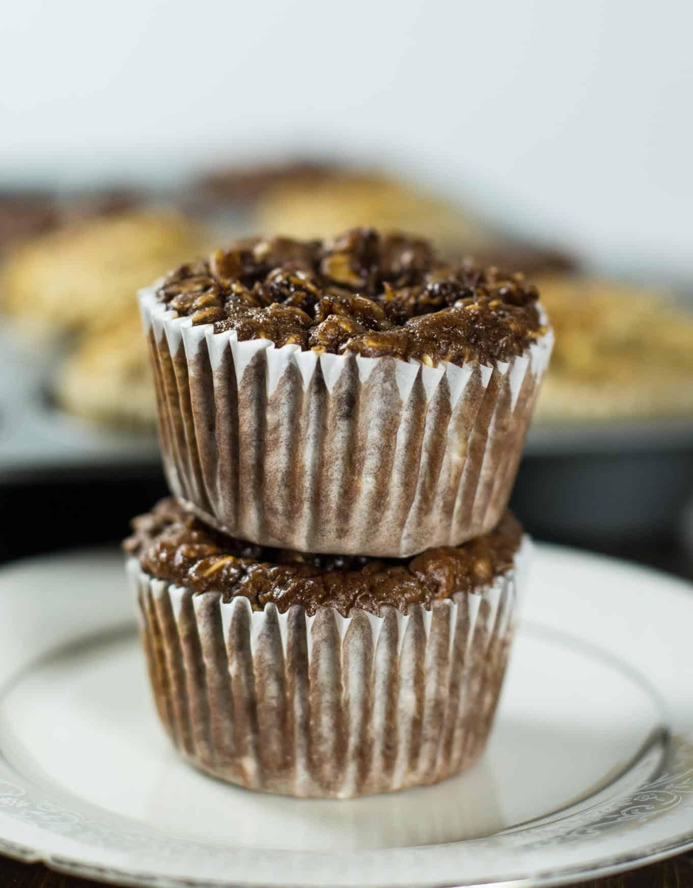 greek yogurt blender muffins