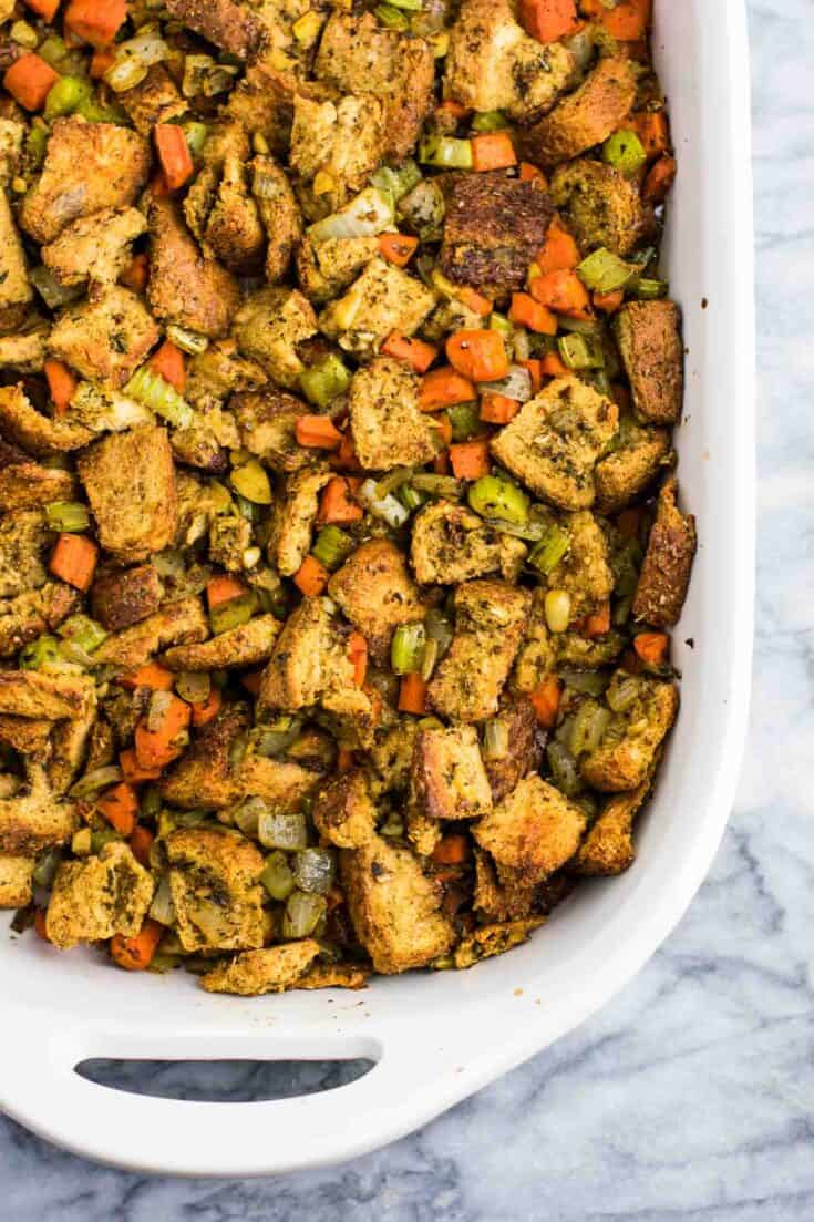 Easy Vegan Stuffing Recipe