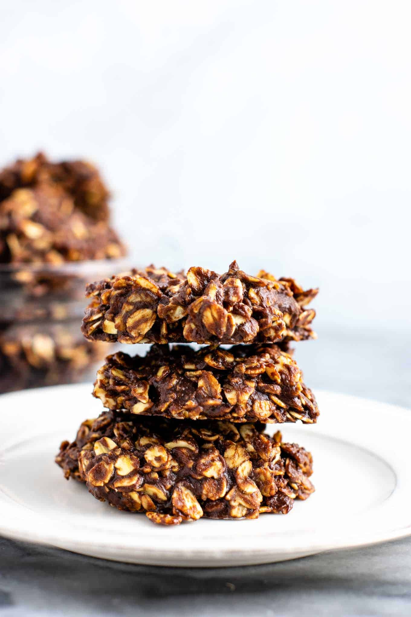 The BEST healthy no bake cookies
