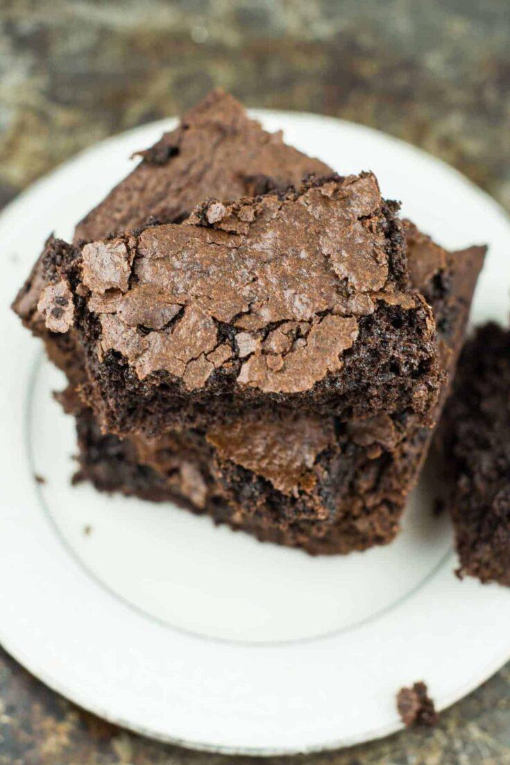 Healthy One Bowl Brownies