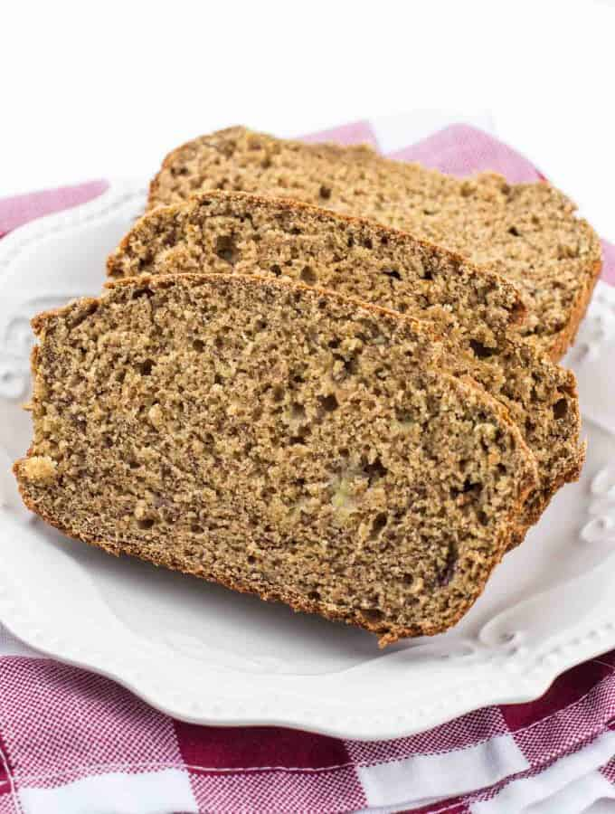 Perfect Whole Wheat Banana Bread