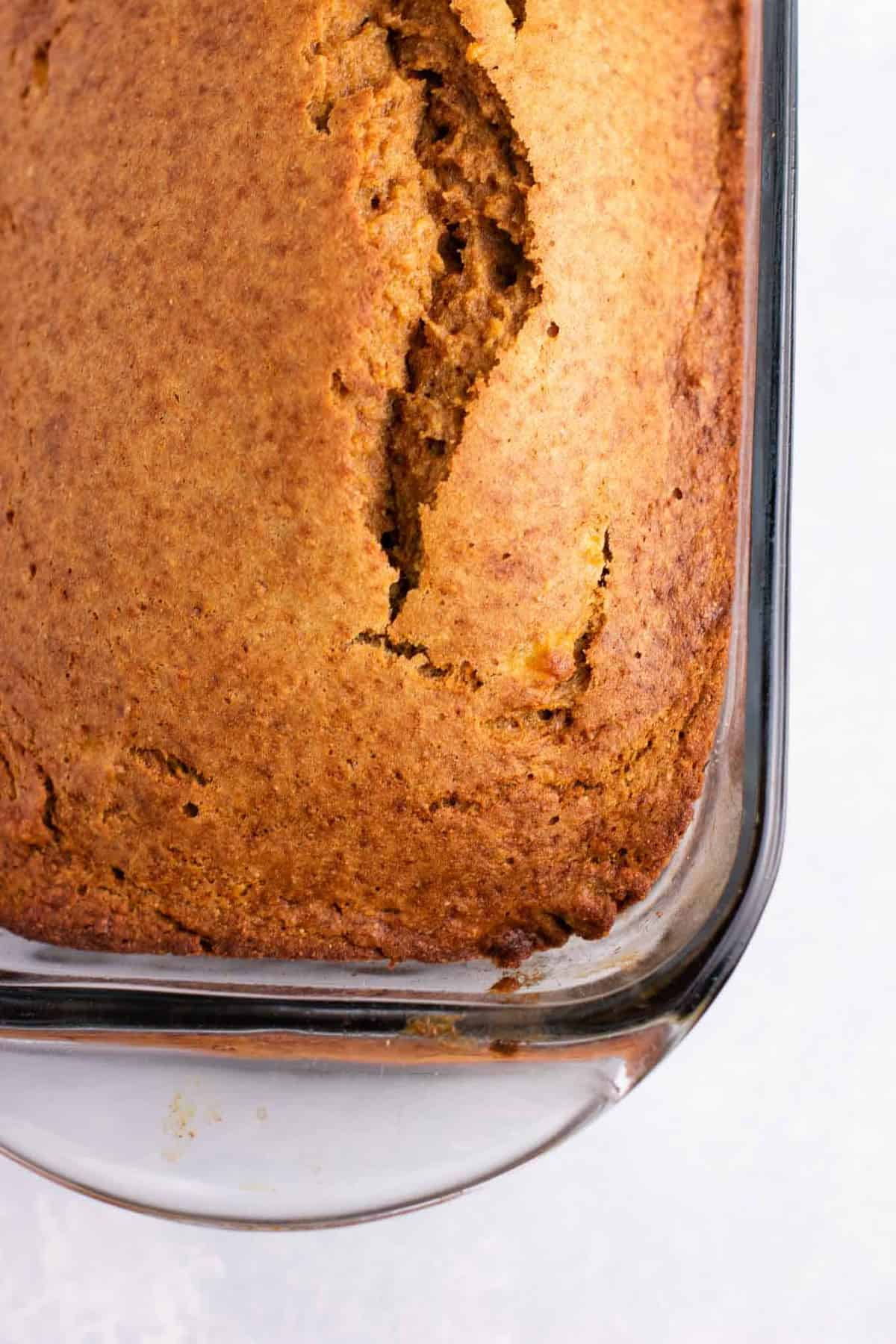perfect whole wheat banana bread - banana bread with whole wheat flour. Oil free, dairy free, and so delicious! #bananabread #wholewheatbananabread #bananbreadrecipe #healthy #dairyfree #oilfree
