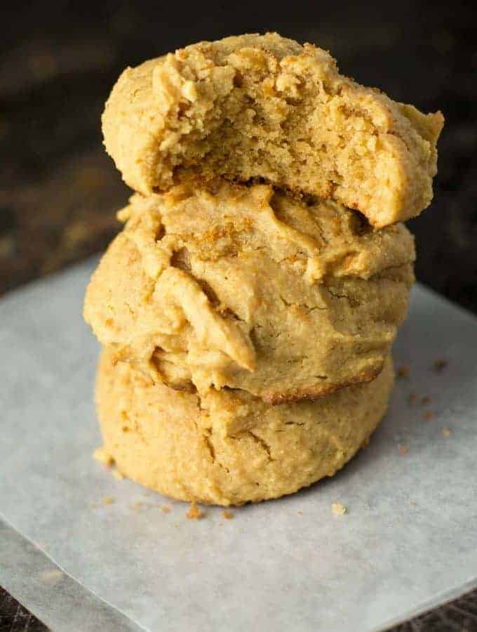 Perfect Fluffy Peanut Butter Cookies